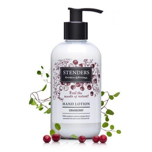 STENDERS Hand Lotion Cranberry  (Losjons roku kopšanai ar dzērveņu aromātu)