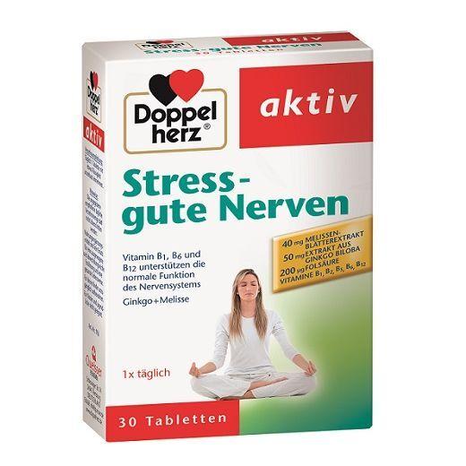 Doppelherz Aktiv Stress Gute Nerven  (Uztura bagātinātājs labiem nerviem)