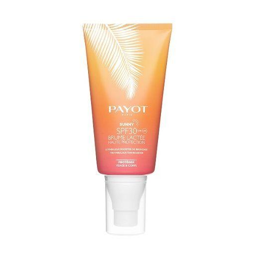 Payot Sunny SPF 30 Brume Lactee  (Aizsardzības sprejs SPF 30 sejai un ķermenim, iedeguma pastiprināt
