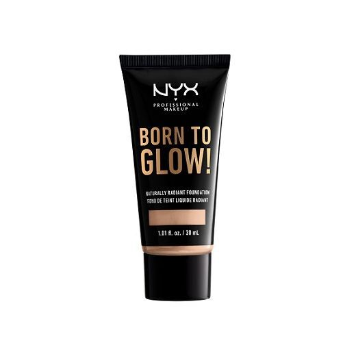 NYX Professional Makeup Born To Glow Naturally Radiant Foundation  (Izgaismojošs tonālais krēms)