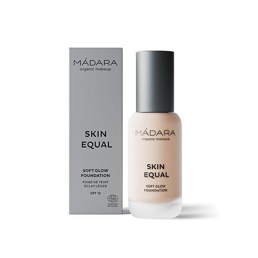 Madara Skin Equal Soft Glow Foundation SPF 15  (Viegli mirdzošs tonālais krēms)
