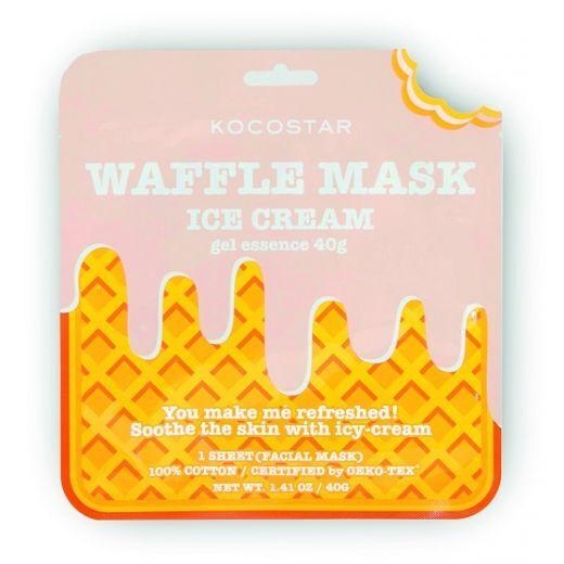 Kocostar Waffle Mask Ice Cream  (Kopjoša sejas maska)