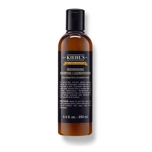 Kiehl's Grooming Solutions Nourishing Shampoo + Conditioner  (2-in-1 šampūns un kondicionieris
