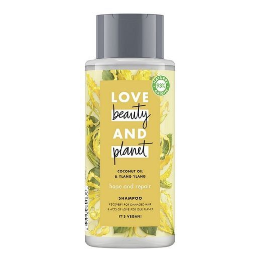 Love Beauty and Planet Coconut Oil & Ylang Ylang Shampoo  (Atjaunojošs šmpūns matiem)