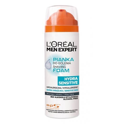 L'Oreal Paris Men Expert Hydra Sensitive Shaving Foam  (Skūšanās putas)