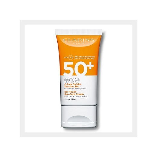 Clarins Sun Care Face Cream SPF 50+  (Saules aizsargkrēms sejai)