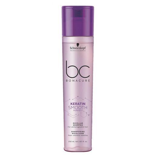 Schwarzkopf Professional BC Bonacure Keratin Smooth Micellar Shampoo  (Micelārais šampūns matu noglu