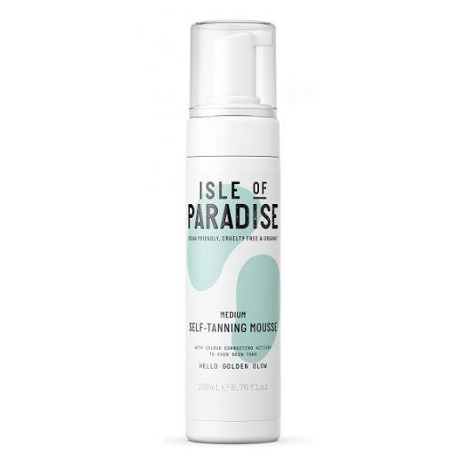 Isle of Paradise Medium Self Tanning Mousse  (Paštonējošās putas)
