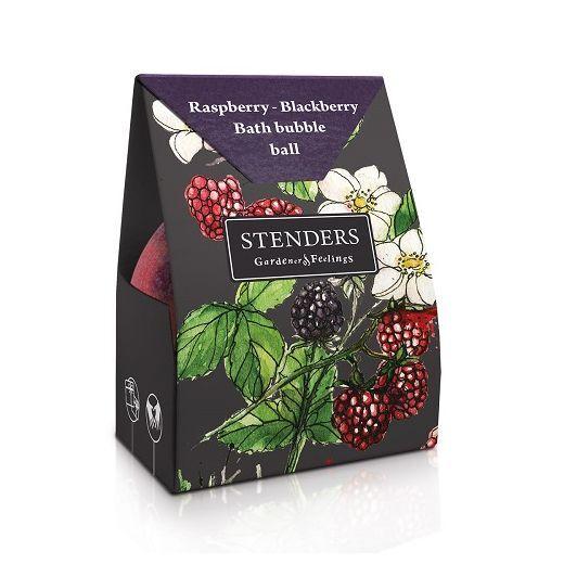 STENDERS Raspberry-Blackberry Bath Bubble Ball  (Aveņu – kazeņu vannas burbuļbumba)