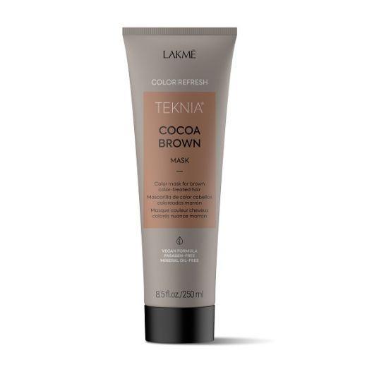 Lakmé Teknia Refresh Cocoa Brown Mask  (Brūnas krāsas atjaunojoša matu maska)