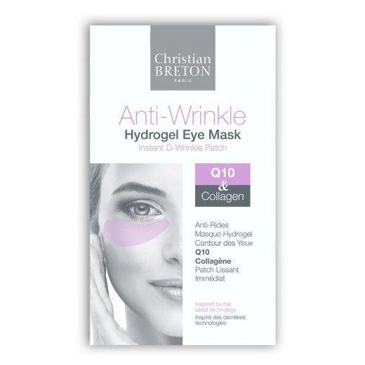 Christian Breton Anti Wrinkle Hydrogel Eye Mask  (Pretgrumbu acu maska)