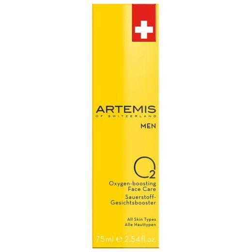 Artemis Men O2 Oxygen - boosting Face Care (Fluīds ar skābekli vīrieša sejas ādai)