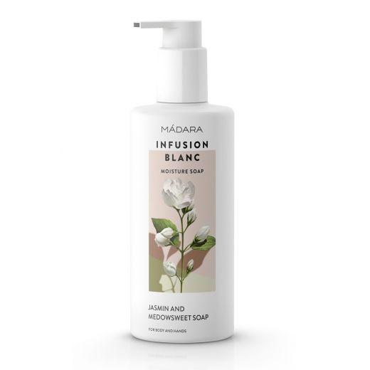 Madara Infusion Blanc Moisture Soap  (Mitrinošas dušas ziepes)