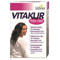 Vitakur Plus N30  (Uztura bagātinātājs sievietēm ar vitamīniem un naktssveces eļļu)