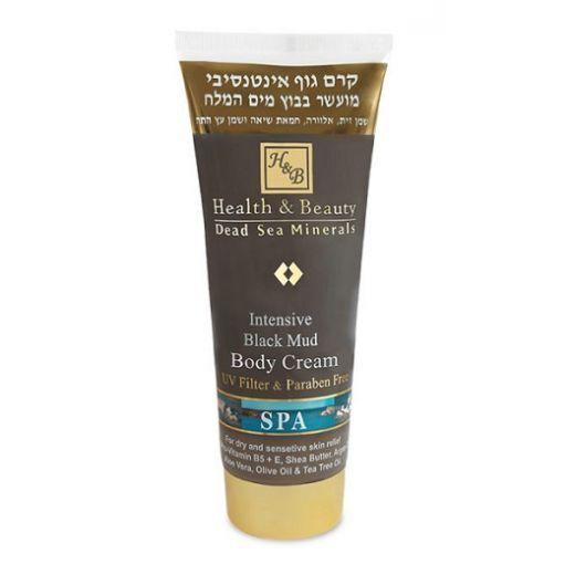 Health and Beauty Intensive Black Mud Body Cream   (Intensīvs  krēms ķermenim ar Nāves jūras dubļiem