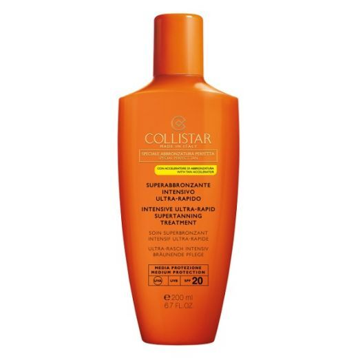 Collistar Intensive Ultra-Rapid Supertanning Treatment SPF 20  (Iedegumu pastiprinošs saules aizsarg