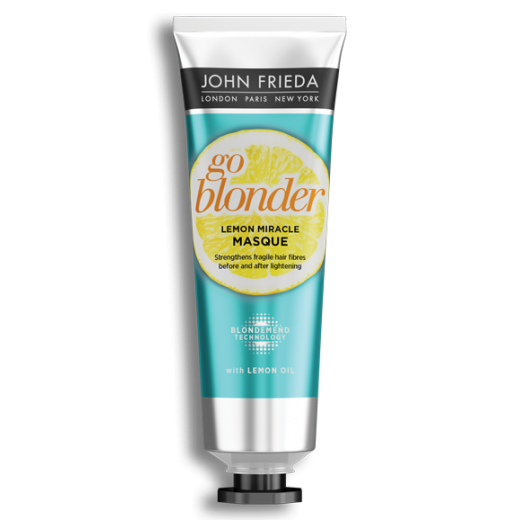 John Frieda Go Blonder Lemon Miracle Masque  (Atjaunojoša maska matiem)