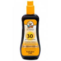 Australian Gold Sunscreen Spray Oil SPF 30  (Saules aizsaglīdzeklis SPF 30)