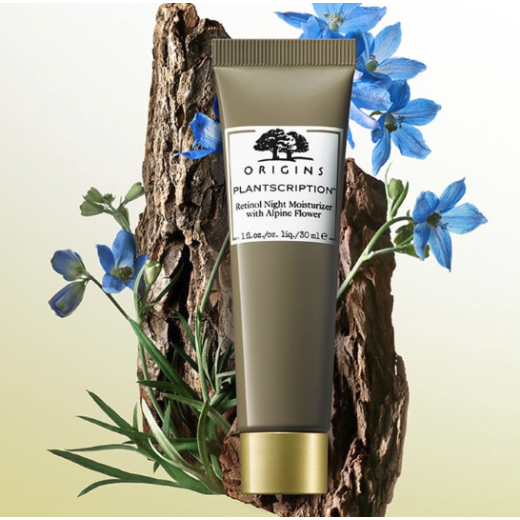 Origins Plantscription™ Retinol Night Moisturizer With Alpine Flower  (Nakts sejas krēms)