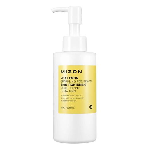 Mizon Vita Lemon Sparkling Peeling Gel  (Pīlinga želeja)