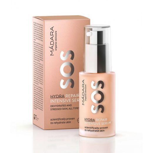 Madara SOS Hydra Repair Intensive Serum  (Intensīvi atjaunojošs un mitrinošs serums)