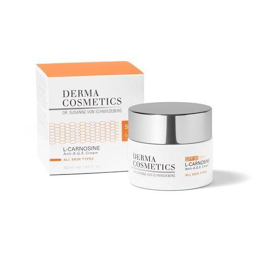 Dermacosmetics L-Carnosine Anti-A.G.E. Cream SPF 30  (Dienas krēms SPF 30)