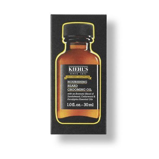 Kiehl's Grooming Solutions Nourishing Beard Grooming Oil  (Viegla vīriešu bārdas eļļa ar sandal
