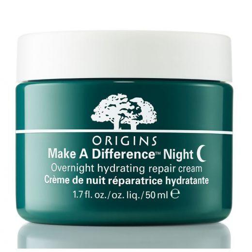 Origins Make a Difference™ Night Overnight Hydrating Repair Cream 50 ml  (Mitrinošs nakts krēms)