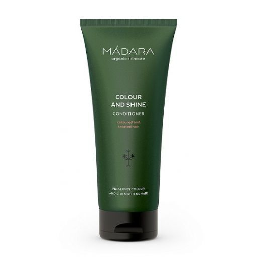 MADARA Colour and Shine Conditioner 200 ml  (Balzams krāsotiem matiem)