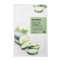 Mizon Joyful Time Essence Mask Cucumber  (Sejas maska ar gurķi)