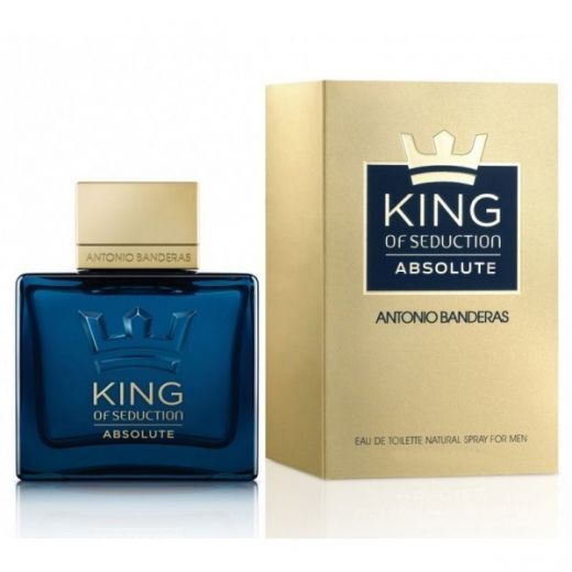 Antonio Banderas King Of Seduction Absolute EDT  (Tualetes ūdens vīrietim)