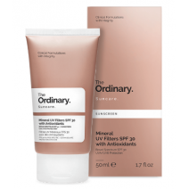 The Ordinary Mineral UV Filters SPF 30 With Antioxidants  (Saules aizsargkrēms SPF 30)