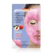 Purederm Bubble Mask Pink  (Dziļi attīroša sejas maska)