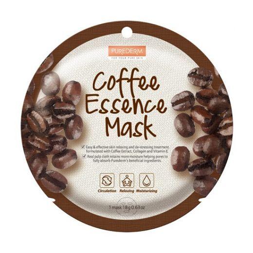 Purederm Coffee Essence Mask  (Kafijas esences maska)
