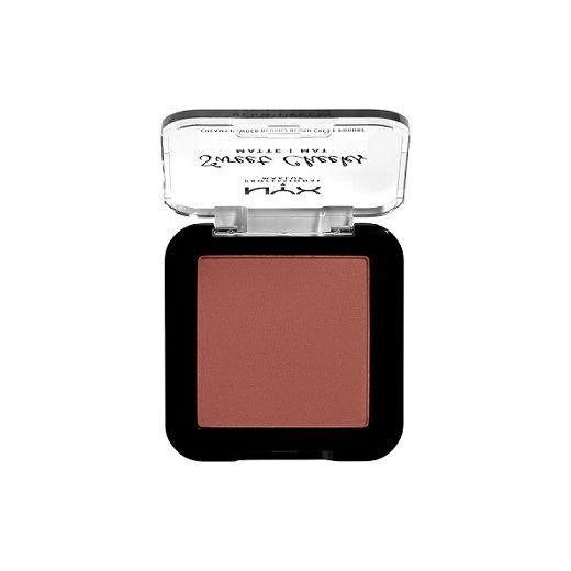 NYX Professional Makeup Sweet Cheeks Creamy Powder Blush Matte  (Matēts vaigu sārtums)