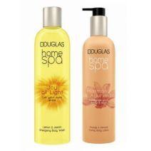 Douglas Home SPA Joy Of Light Body Wash + Harmony Of Ayurveda Body Lotion  (Ķermeņa kopšanas komplek