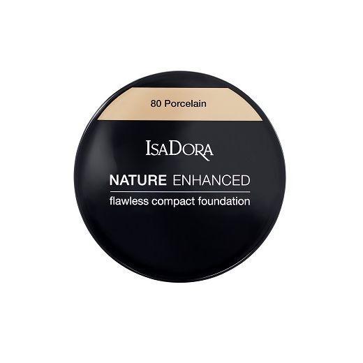 Isadora Nature Enhanced Flawless Cream Compact Foundation  (Kompaktais pūderkrēms)