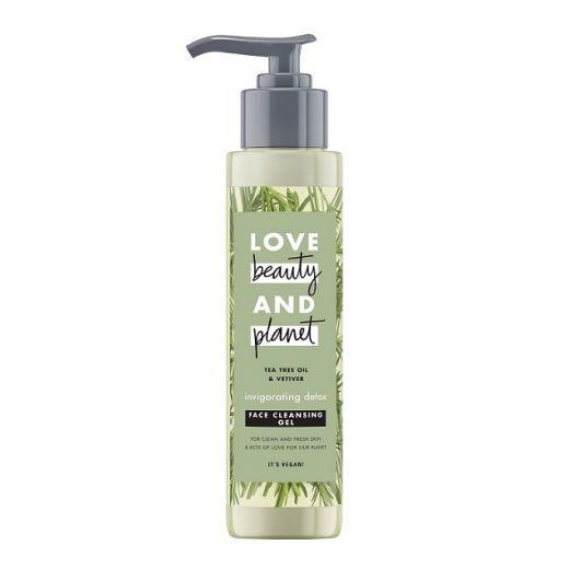Love Beauty and Planet Rosemary & Vetiver Face Cleanser  (Attīroša želeja sejai)