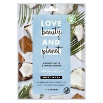 Love Beauty and Planet Coconut Water & Mimosa Flower Face Sheet Mask   (Mitrinoša sejas maska)