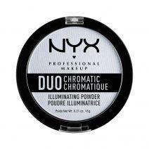 NYX Duo Chromtic Illuminating Powder  (Izgaismojošs pūderis)