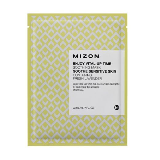 Mizon Enjoy Vital-Up Time Soothing Mask  (Nomierinoša sejas maska)