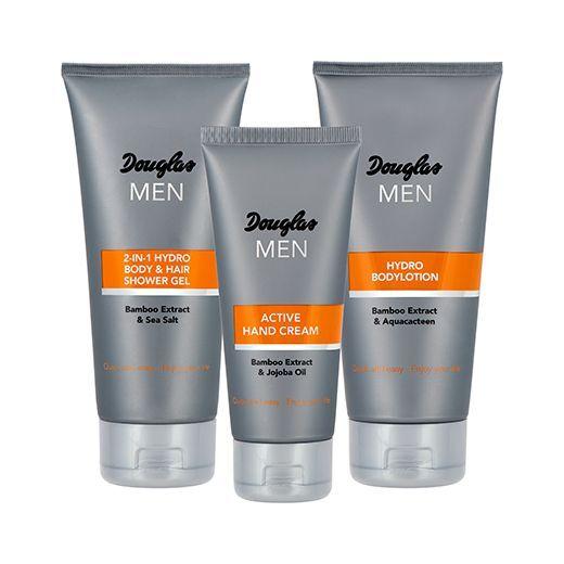 Douglas Men Travel Set  (Komplekts ķermeņa ādas kopšanai vīrietim)
