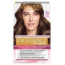 L'Oreal Paris Excellence Hair Color 500 Light Brown  (Matu krāsa)