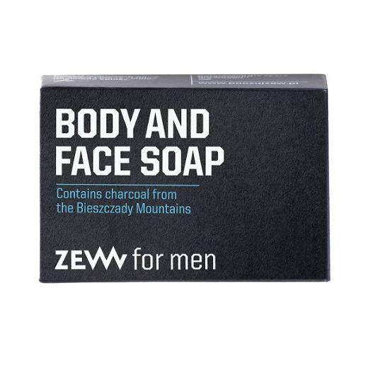 ZEW for Men Face and Body Soap  (Dabiskas ķermeņa un sejas ziepes)