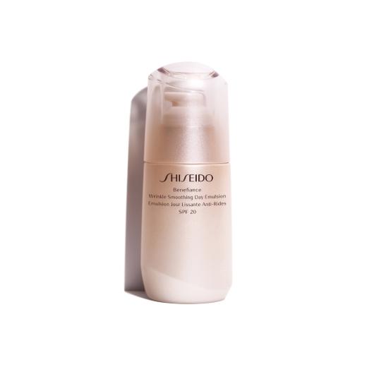 Shiseido Benefiance Wrinkle Smoothing Day Emulsion SPF 20  (Atjaunojoša emulsija sejai)
