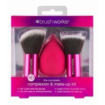 BrushWorks Complexion and Make Up Kit   (Grima otas)