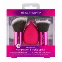 BrushWorks Complexion and Make Up Kit   (Grima otas)