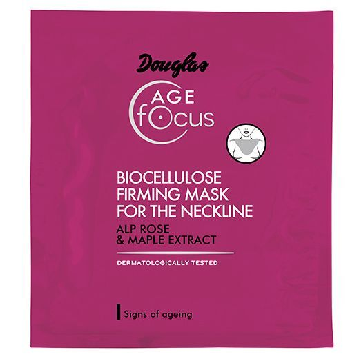 Douglas Focus Age Biocellulose Firming Mask For The Neckline 10 ml  (Biocelulozes nostiprinoša maska