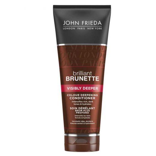 John Frieda Brilliant Brunette Visibly Deeper Colour Deepening Conditioner 250 ml  (Kondicionieris b