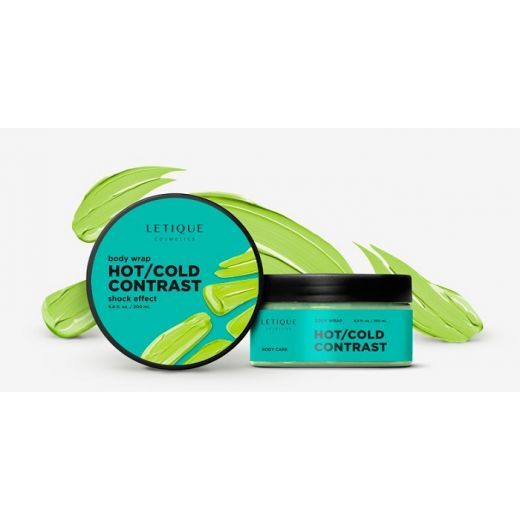 Letique Cosmetics Body Wrap Gel Hot/Cold Contrast  (Ietīšanās Hot/Cold Contrast)